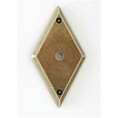 brass cabinet knob backplate antique brass backplate hi line backplates cabinet