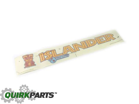 jeep islander decal 2007 2016 jeep wrangler islander hood decal badge sticker