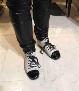 Chanel Sneaker Boots