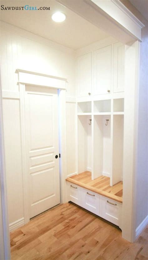 how to build a mudroom bench with cubbies how to build built in mudroom lockers powell