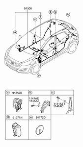 2013 Hyundai Elantra Gt Floor Wiring
