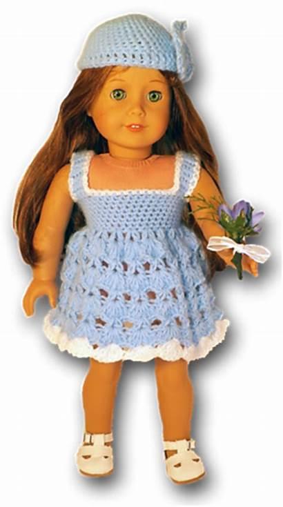 Doll Crochet Clothes Summer American Pattern Dolls