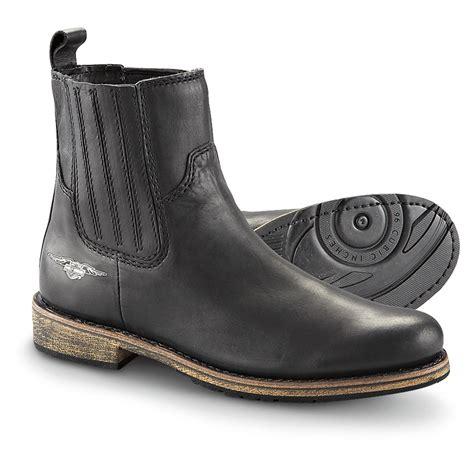 motorcycle boots shoes men 39 s harley davidson denali twin gore boots black