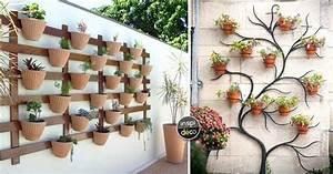 Jardin Deco Exterieur : d co mur ext rieur jardin voici 15 id es qui sauront vous inspirer ~ Nature-et-papiers.com Idées de Décoration