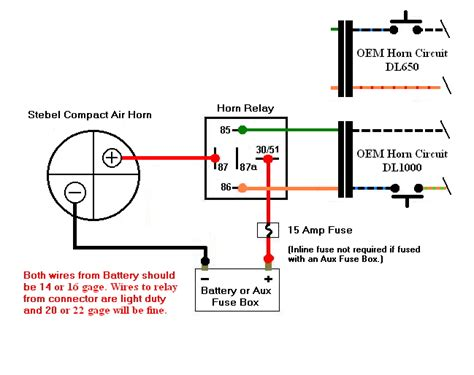 stebel air horn wiring 101