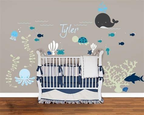 stickers marin chambre bébé sticker mural chambre bébé plus de 50 idées pour s