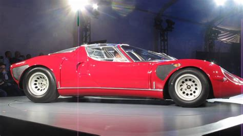 Alfa Romeo 33 Stradale For Sale by Extremely 1968 Alfa Romeo Tipo 33 Stradale Revs Up At