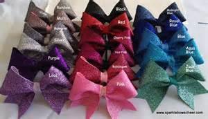 Cheers Cheerleading Hair Bows