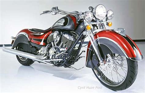 Indian Motorcycle Just Unveiled The Big Chief Custom