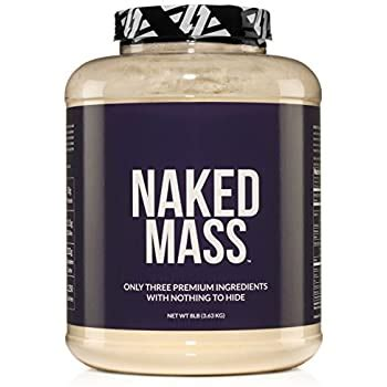 Amazon.com: NAKED MASS - Natural Weight Gainer Protein