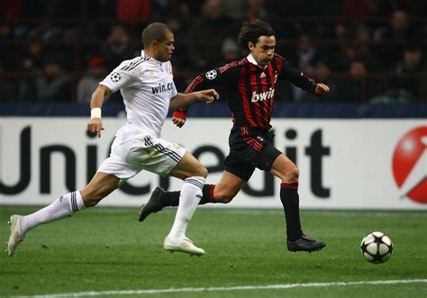 Pepe In Ac Milan V Real Madrid  Uefa Champions League