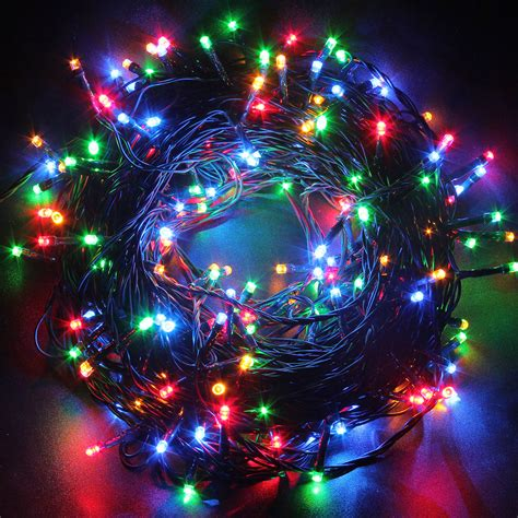 multifunction fairy lights 50m 250 led string lights 8 mode l wedding home garden us ebay