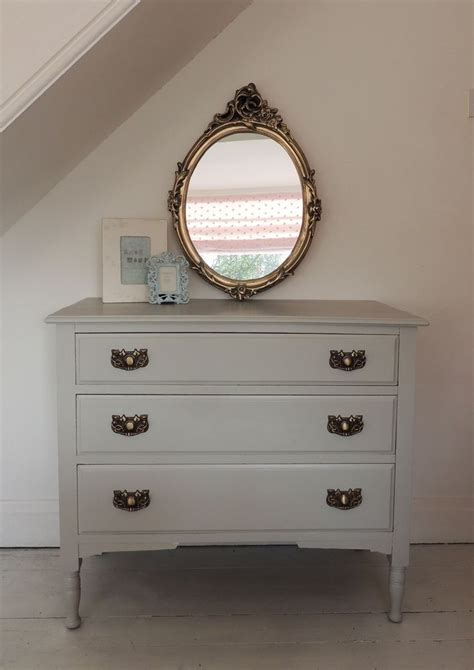painting chest of drawers shabby chic painted grey shabby chic chest of drawers in farrow and ball pavilion gray diy furniture