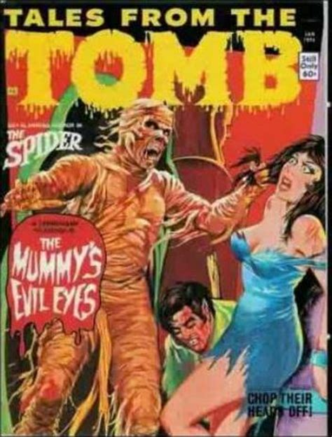 Tales From The Tomb 1 A, Jan 1974 Magazine By Eerie Publications