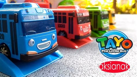 mainan anak tayo mobil tayo biru mainan anak tayo si bis kecil mobil mobilan youtube