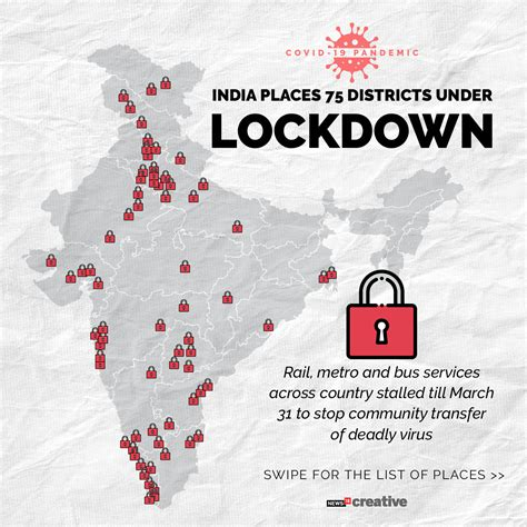 Coronavirus: Full List Of India's Districts On Lockdown ...
