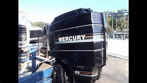 6m3486 Used 1994 Mercury 90elpto 90hp 2