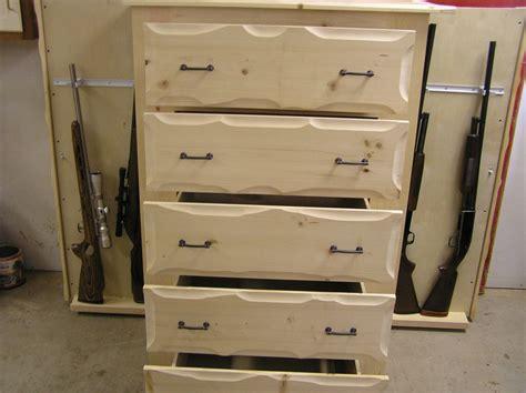 unique fireplace mantel handmade rustic pine dresser with gun storage by