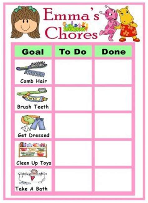 preschool chore charts with pictures toddler 580 | b2bcff0558763f65927ae24e63bead56 preschool chore charts preschool chores