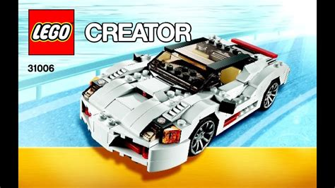 They are the kind of toy that will last forever. LEGO Creator Highway Speedster 31006 3 in 1 Instructions ...