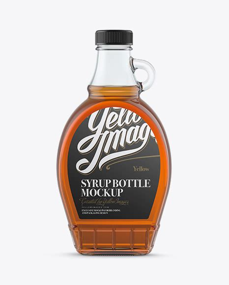 See your label design in realistic way with free glass bottle mockup. Download Clear Glass Chocolate Syrup Bottle Mockup PSD ...
