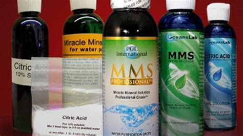 Trading Standards Action On 'miracle Mineral Solution