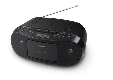 cassette cd radio player sony cfd s50 classic portable cd cassette player fm am