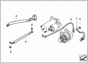 Original Parts For E60 535d M57n Sedan    Engine Electrical