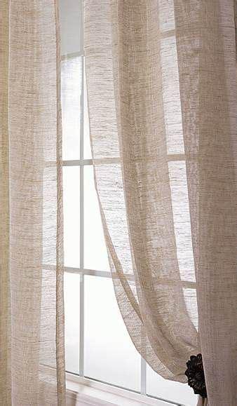 sheer linen curtainsi  love