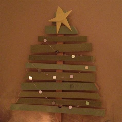 wooden christmas tree crafts pinterest