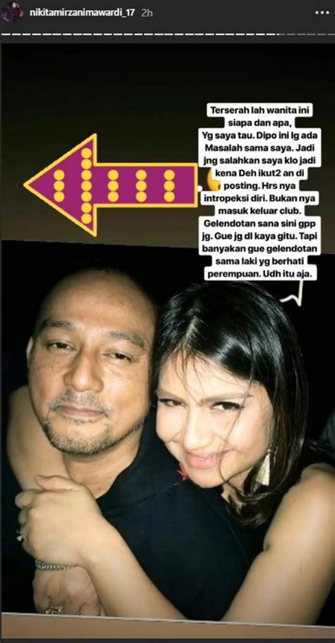 Nikita Mirzani Posting Foto Dipo Latief Bersama Wanita