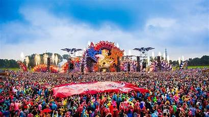 Hardstyle Festival Weekend Crowd Defqon Hour Power