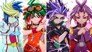 Yu Gi Oh Arc V - Four Dimension Dragons Yuya Yuto Yugo Yuri Amv
