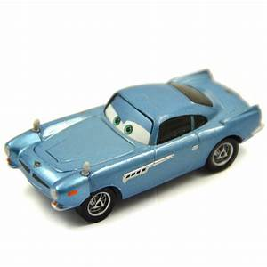 Mattel Disney Pixar Cars 2 Finn McMissile Metal Toy Car 1 ...