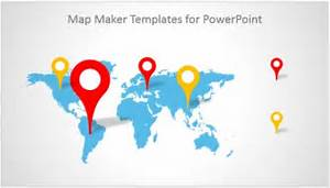 World map presentation templates editable world map template best photos of editable powerpoint maps gumiabroncs Image collections