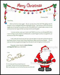 search results for sample letter from santa calendar 2015 With letter from santa mailed to child