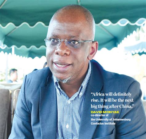 David Monyae Insists China Does Not Preach To Africa As