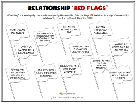 Healthy Relationships And Friendships Worksheets