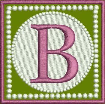alphabetletterbsingleembroiderymonogramdesigns