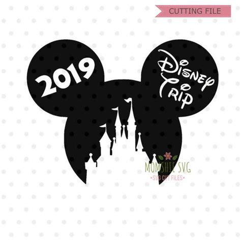 Do you like how they look on shirts? Disney trip SVG 2019 Disney svg Disney goals svg and png ...