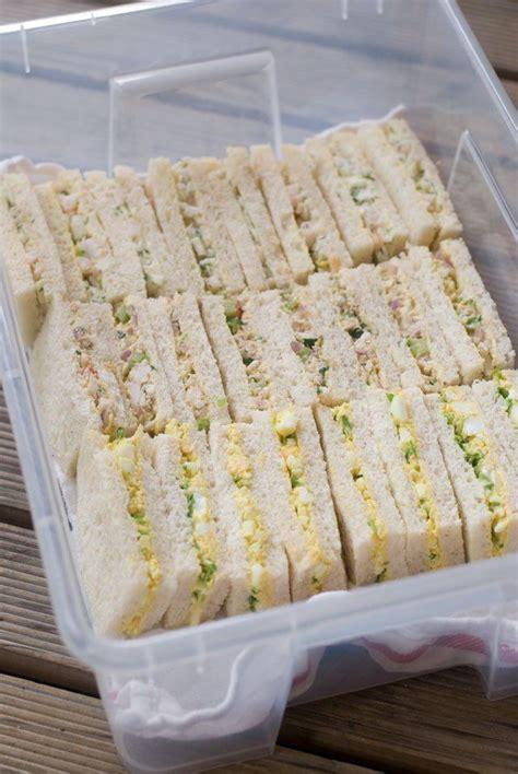 mmracessandwiches tea party sandwiches party