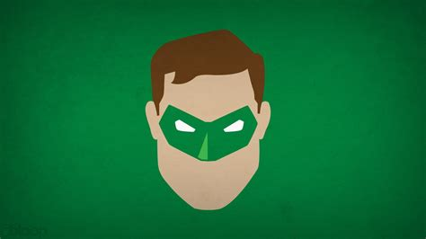 Hd Green Lantern Minimalistic Superheroes Background Blo0p