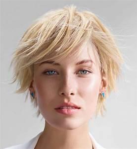 Coupe Courte 2017 : coiffure courte effil e 2017 ~ Melissatoandfro.com Idées de Décoration
