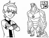 Ben Coloring Pages Bendy Printable Alien Force Print Ink Machine Template Getcolorings Printables Adults Bettercoloring sketch template