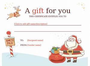 Christmas gift certificate template 16 word pdf documents download free premium templates for Christmas gift certificate template word