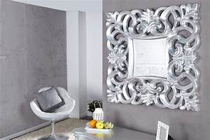 Barock Spiegel Silber : riesiger barock spiegel venice silber antik 90x180cm riess ambiente onlineshop ~ Buech-reservation.com Haus und Dekorationen