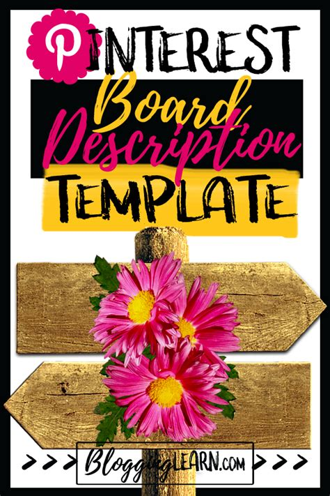 Write Amazing Pinterest Board Descriptions with this ...