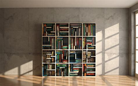 Bookshelves : Cool Minimalist Bookshelf To Read It