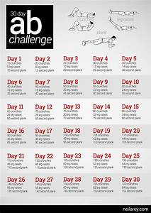 Ab Challenge - doin' this! Great for the kids. After they ...