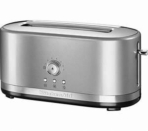 Kitchen Aid Toaster : buy kitchenaid 5kmt4116bcu 2 slice toaster silver free delivery currys ~ Yasmunasinghe.com Haus und Dekorationen